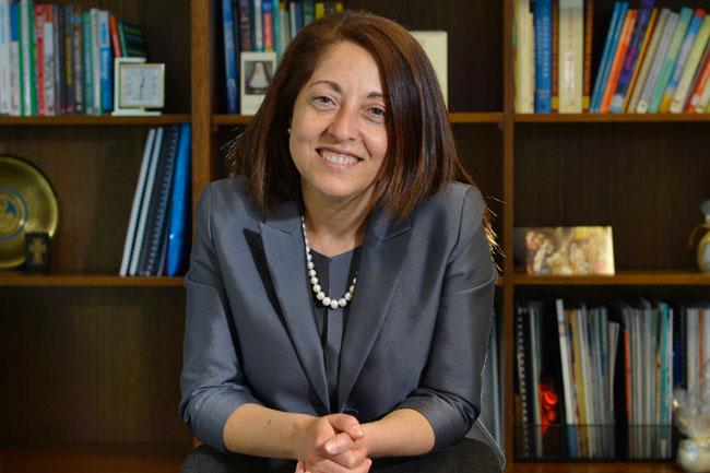 Scholarship recipient, Mary Farah